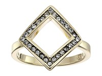 Cole Haan Open Diamond Crystal Ring Gold Crystal Ring