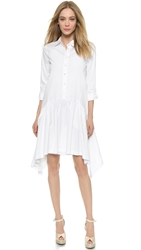 Pure Dkny Trapeze Dress White