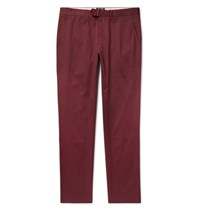 Todd Snyder Hudson Cotton Twill Chinos Burgundy