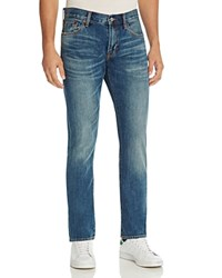 Jean Shop Mick Slim Fit Jeans In Medium Blue