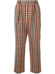 Tomorrowland Straight Leg Trousers Multicolour