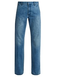 Tibi Low Rise Straight Leg Jeans Denim