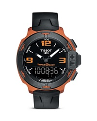 Tissot T Race Touch Men's Bronze Watch With Synthetic Strap 42Mm Black