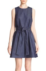 Women's Kate Spade New York Denim Fit And Flare Dress