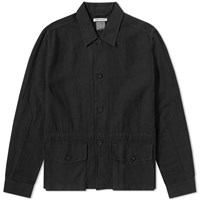 Our Legacy Puff Pocket Shirt Jacket Black