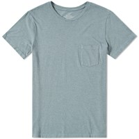 Save Khaki Heavy Jersey Pocket Tee Green