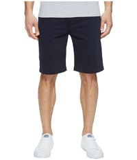 7 For All Mankind Luxe Performance Sateen Chino Shorts Midnight Men's Shorts Navy