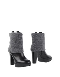 Calvin Klein Jeans Ankle Boots Black