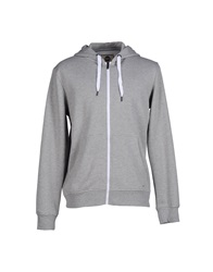 Solid Sweatshirts Grey