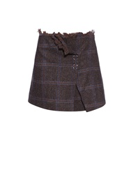 Acne Studios Paynton Herringbone Mini Skirt