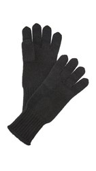 Hat Attack Cashmere Gloves Black