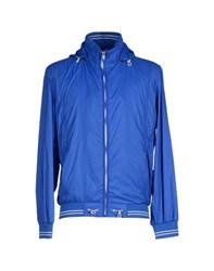 Armata Di Mare Coats And Jackets Jackets Men Azure