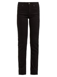 M.I.H Jeans Daily High Rise Straight Leg Jeans Black