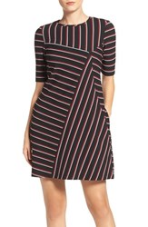 Gabby Skye Women's Stripe Shift Dress