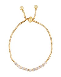 Fragments For Neiman Marcus Adjustable Crystal Bracelet Gold