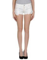 Gold Case Denim Shorts Dove Grey