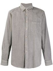 Portuguese Flannel Lobo Shirt Grey