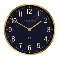 Newgate Mr Edwards Wall Clock Radial Brass