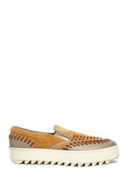 Kolor Slip On Sneakers Brown