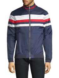 Mpg Ceremony Bomber Jacket Navy Combo