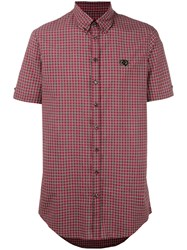 Dsquared2 Short Sleeve Check Shirt