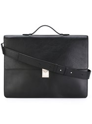 Paul Smith Classic Briefcase Men Leather One Size Black
