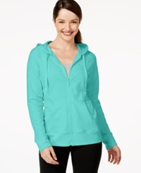Styleandco. Style And Co. Hooded Jacket Only At Macy's Aqua