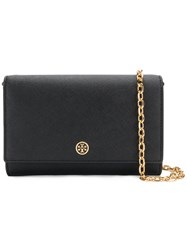Tory Burch Chain Strap Mini Shoulder Bag Black
