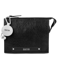Kenneth Cole Reaction Travel Pouch With Earbuds Black