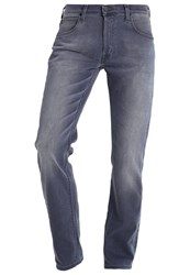 Lee Daren Straight Leg Jeans Chisel Grey Grey Denim
