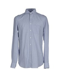 Boglioli Shirts Shirts Men Blue