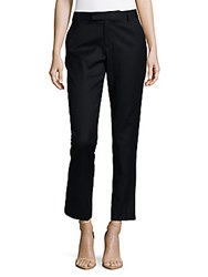 Marc By Marc Jacobs Schoolboy Wool Skinny Pants Normandy Blue