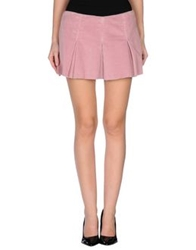 Le Complici Mini Skirts Pastel Pink