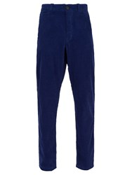 Saturdays Surf Nyc Field Cotton Corduroy Trousers Blue