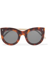 Illesteva Boca Cat Eye Acetate Sunglasses