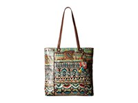 Sakroots Artist Circle North South Shopper Natural One World Handbags Multi
