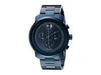 Movado Bold 3600279 Ionic Plated Blue Steel Watches