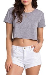Women's Billabong 'Highway' Distressed Denim Shorts Salt Crystal White