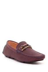 Adolfo Marina Textured Loafer Purple