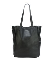 Men's Perforated Skull Tote Bag Black Alexander Mcqueen