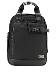 As2ov Buckle Detail Back Pack Black