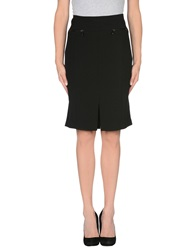 Laurel Knee Length Skirts Black