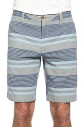 Tailor Vintage Stripe Walking Shorts Cloudy Day
