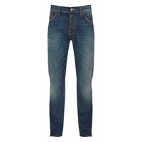 Nudie Jeans Nudie Jean's Men's Steady Eddie Straight Jeans James Replica