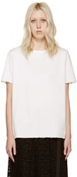 Acne Studios White Cotton Isidora T Shirt
