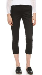 Atm Anthony Thomas Melillo Slim Crop Pants Black