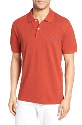 Rodd And Gunn Men's 'The Gunn' Pique Sports Fit Cotton Polo Tabasco