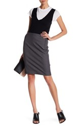 Elie Tahari Tulia Skirt Brown