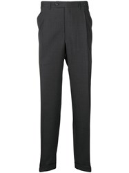 Canali Classic Tailored Trousers Grey