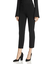 Dylan Gray Cropped Slim Straight Leg Pants 100 Exclusive Black